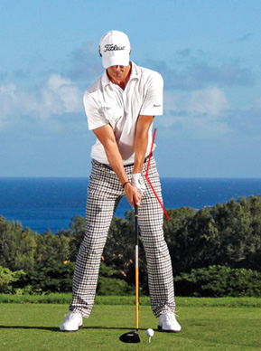 Adam Scott, Setup