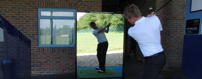 The Man in the Mirror – Long Game Golf Drill