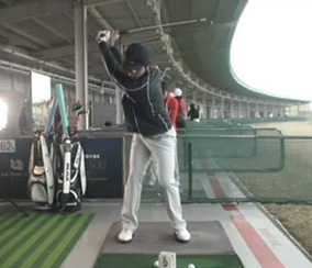 Sang-Moon Bae backswing