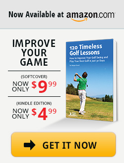 Get 120 Timeless Golf Lessons on amazon