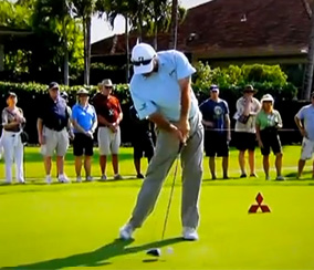 Fred Couples at Impact
