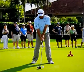Fred Couples Setup With the Driver