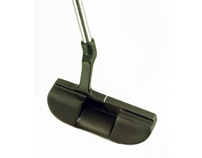 The sweetspot is usually marked wih a line on the putter.