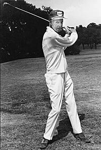 Titanic Thompson played golf his whole life.